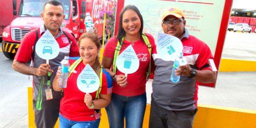 KOF Panamá suma a las acciones por el agua.