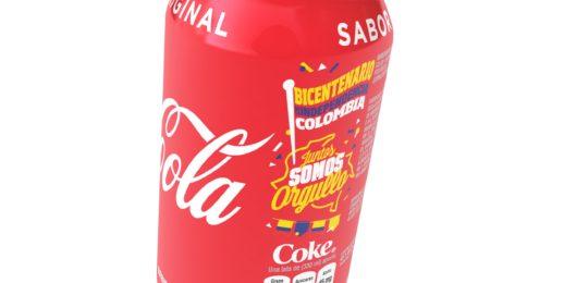 Bicentenario de la independencia colombiana ¡Coca-Cola FEMSA también celebra con la Lata Bicentenario!