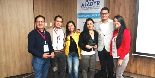 ALADYR premia uso eficiente del agua a Coca-Cola FEMSA Colombia.