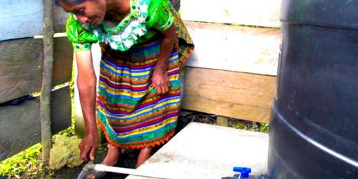 Cosechadoras de Agua de Lluvia en Guatemala.
