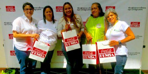 """""""Nosotras, expertas en oficios"""" gana el Premio Efecto FEMSAción de Coca-Cola FEMSA de Venezuela."""