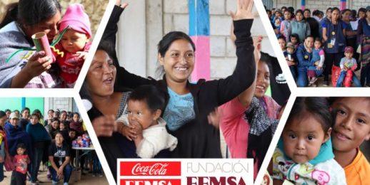 """Coca-Cola FEMSA se suma a la iniciativa """"Tiempo para jugar"""" en Chiapas, México."""