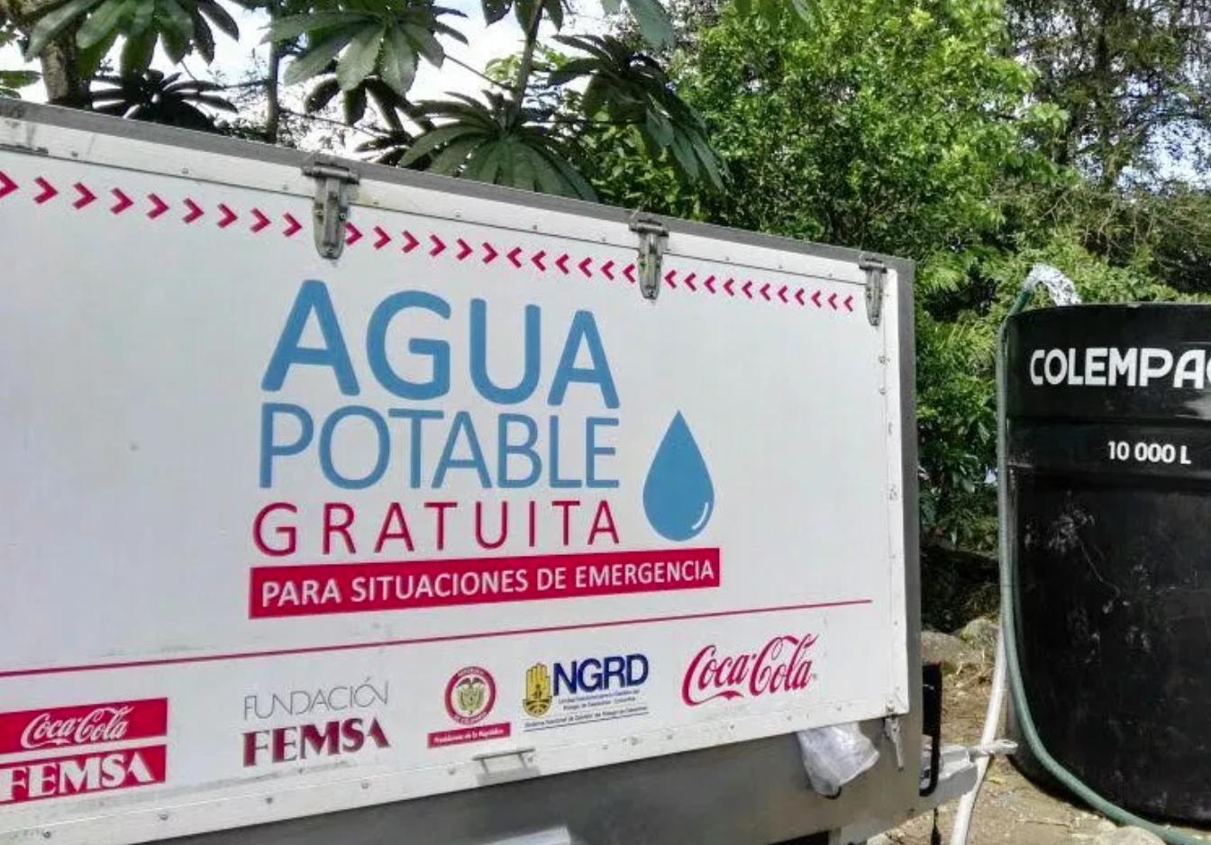 Por segunda vez la Comunidad Wiwa de la Sierra Nevada de La Guajira será abastecida de agua potable por Coca-Cola FEMSA.