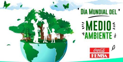 Coca-Cola FEMSA en el Día Mundial del Medioambiente 2020.