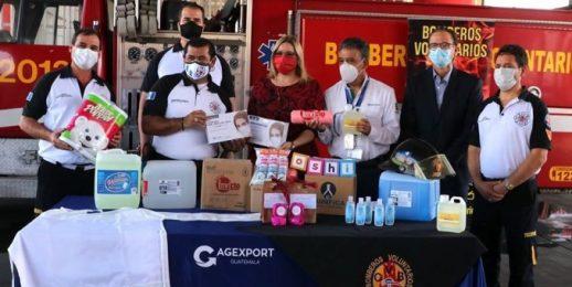 Coca-Cola FEMSA Guatemala, distribuye apoyos para la mitigación de la pandemia por COVID-19.