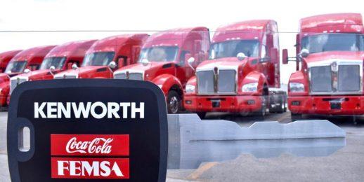 Coca-Cola FEMSA integra unidades de transporte con tecnología inteligente y sostenible.
