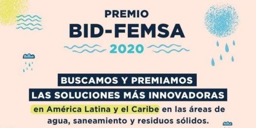 BID y Fundación FEMSA premian la innovación en agua, saneamiento y residuos sólidos.