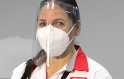 Sistema Coca-Cola dona caretas protectoras al Ministerio de Salud y a Panamá Solidario