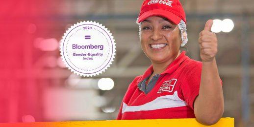 Coca-Cola FEMSA en GEI de Bloomberg, Índice de Igualdad de Género 2020.