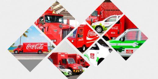 Coca-Cola FEMSA es reconocida por su transportación limpia.