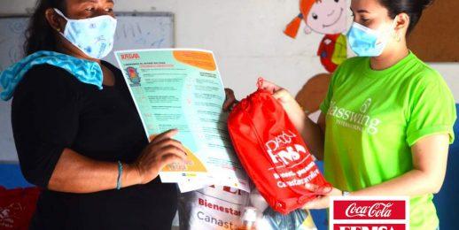 Coca-Cola FEMSA apoya al programa «Canastas Familiares para el Bienestar y Desarrollo»