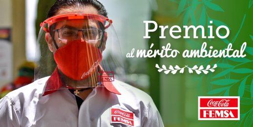 «Reconocimiento al Mérito Ambiental» para Coca-Cola FEMSA en Estado de México