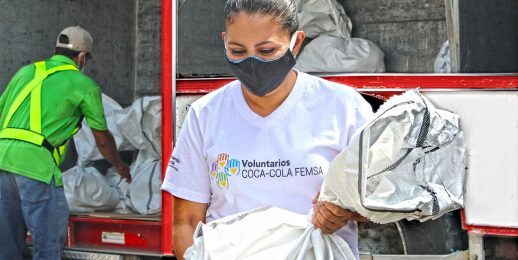 Voluntariado Coca-Cola FEMSA Nicaragua, apoya a ANF por COVID-19.