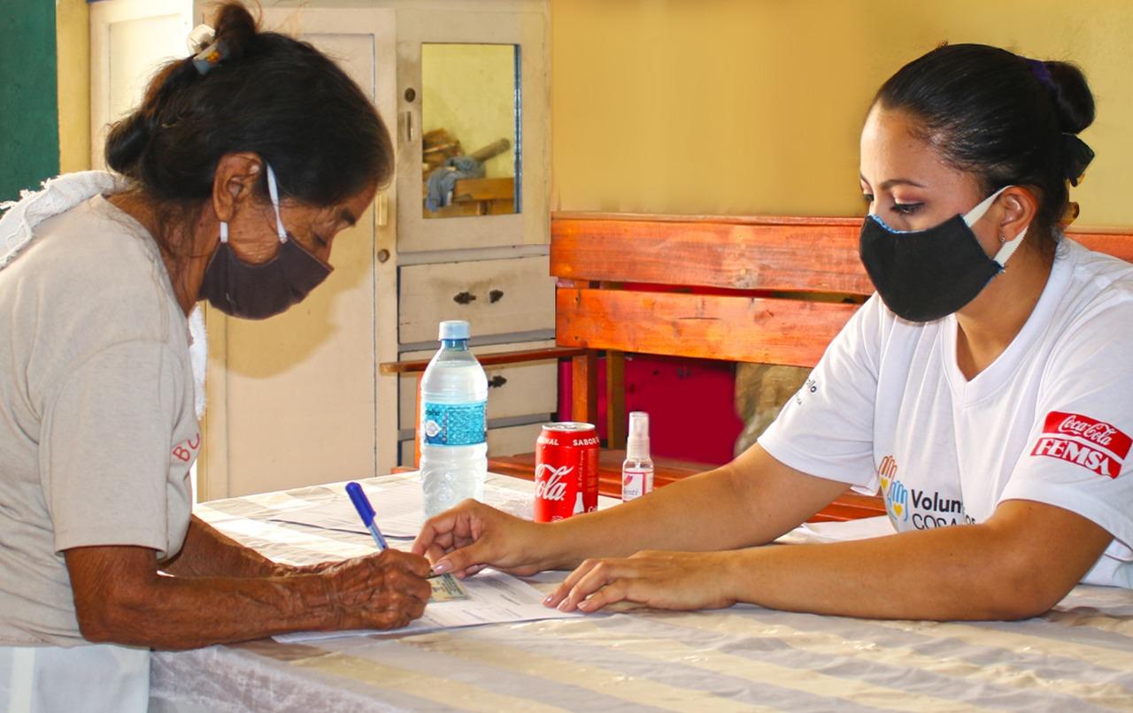 coca-cola femsa nicaragua voluntariado covid