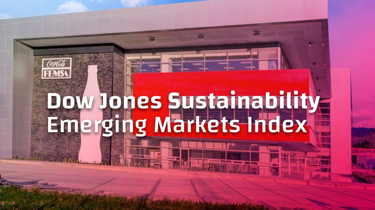 Coca-Cola FEMSA recognized once againas sustainability leader.