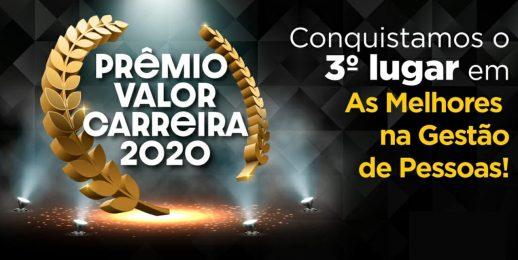 Conquistamos o 3° lugar no Prêmio Valor Carreira 2020: Coca-Cola FEMSA Brasil