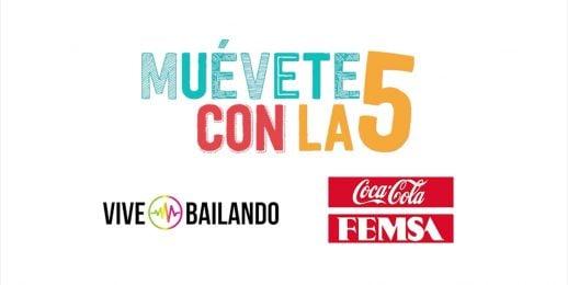 Con Coca-Cola FEMSA Colombia, vive, «¡Muévete con la 5!»