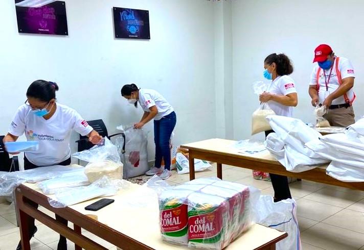 voluntariado coca-cola femsa kof nicaragua