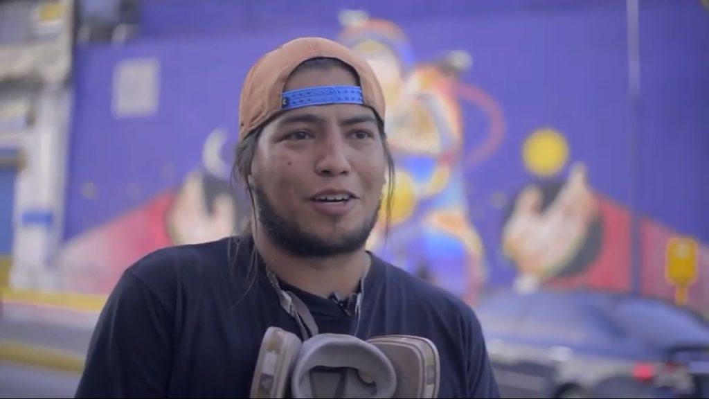 coca-cola femsa venezuela mural efecto femsacion