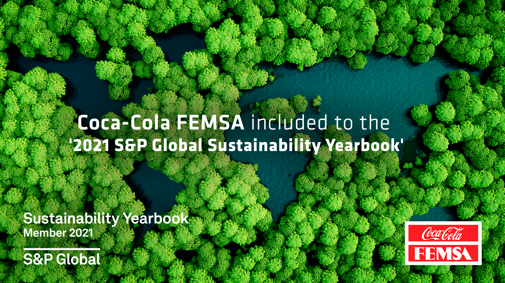 Coca-Cola FEMSA becomes member to the S&P Global 2021 Sustainability Yearbook