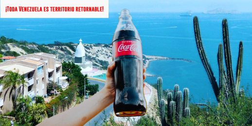 Botella retornable de 1.25 L de Coca-Cola FEMSA llega a toda Venezuela