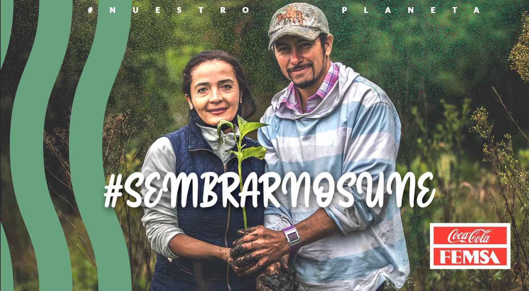 Coca-Cola FEMSA Colombia restaura dos hectáreas en el Oriente Antioqueño apoyando la meta de siembra del Gobierno Nacional