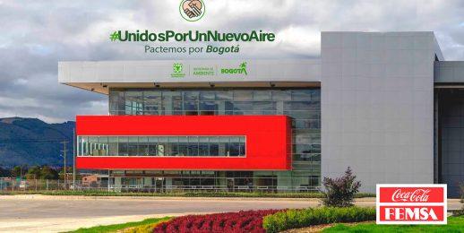 Coca-Cola FEMSA Colombia se suma al Pacto Unidos Por Un Nuevo Aire de la Alcaldía de Bogotá.