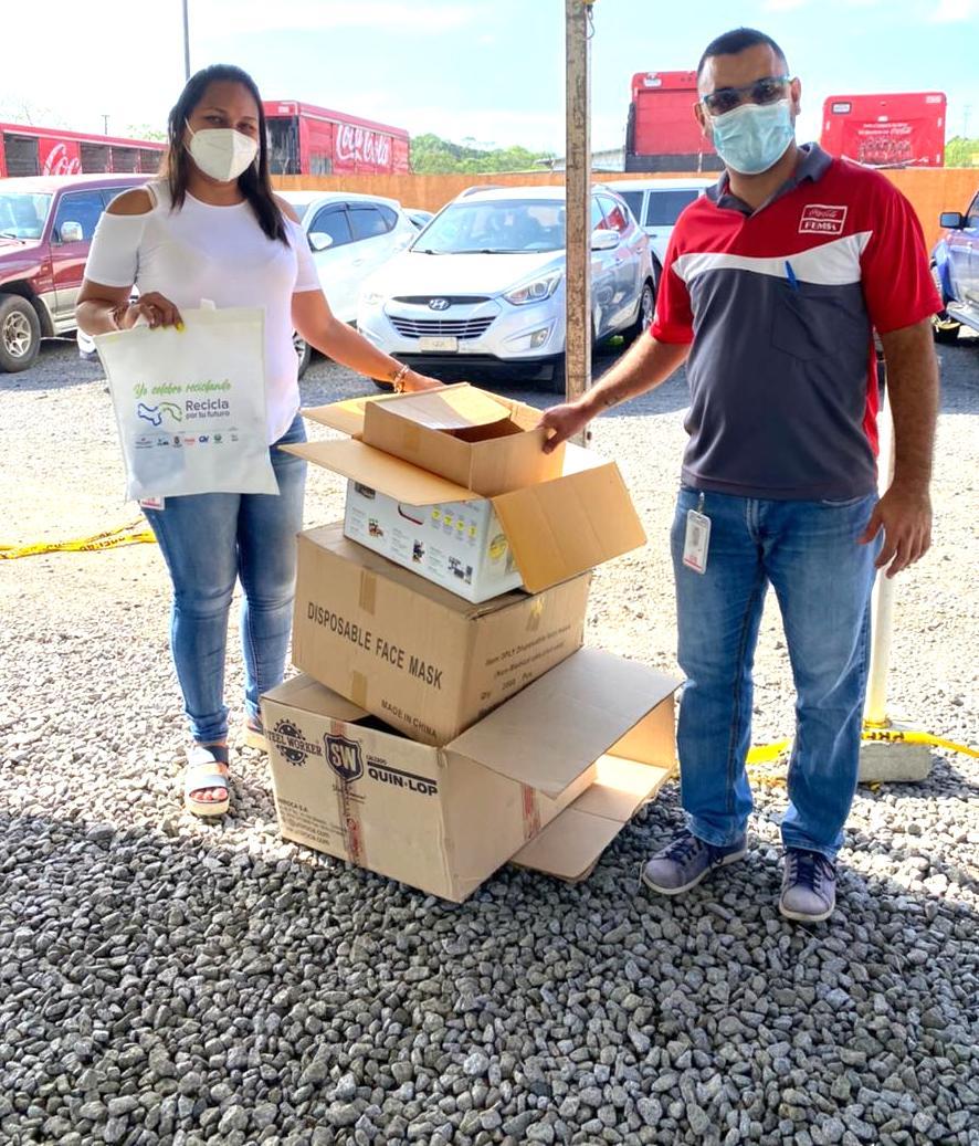 Más de 30 toneladas recolectadas en la jornada nacional de reciclaje de Panamá.