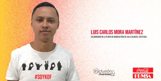 Historias de orgullo: Luis Carlos Mora y el lenguaje de señas en Costa Rica.