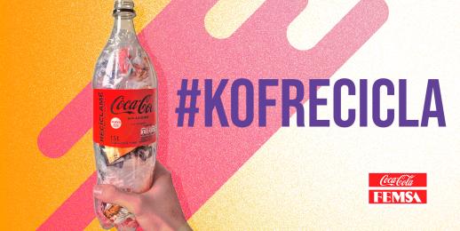 Coca-Cola FEMSA Colombia promueve el reciclaje entre sus colaboradores.