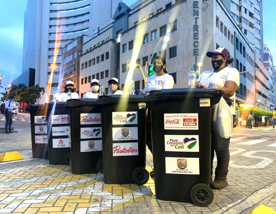 Ciudad Circular, Bogotá incrementando el reciclaje con el apoyo de Coca-Cola FEMSA.