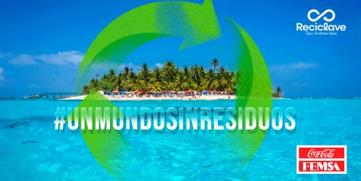 RECICLAVE el modelo para potenciar la economía circular y el reciclaje en San Andrés y Providencia, Colombia.