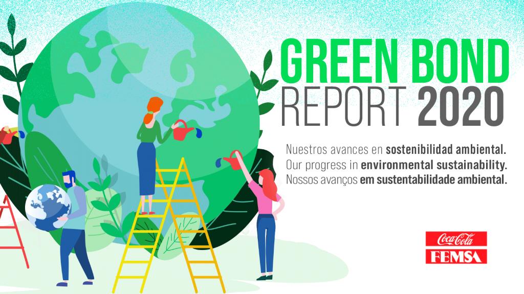 Coca-Cola FEMSA releases its first Green Bond Report.