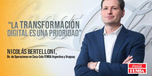 Conocé a Nicolas Bertelloni  Director de Operaciones de Coca-Cola FEMSA Argentina y Uruguay.