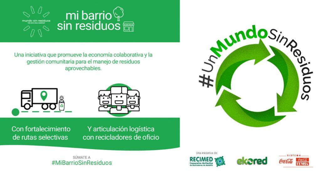Mi barrio sin residuos llega al área metropolitana del Valle de Aburrá.