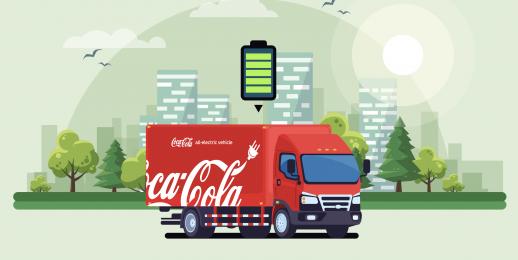 Coca-Cola FEMSA Brasil adquire caminhões elétricos