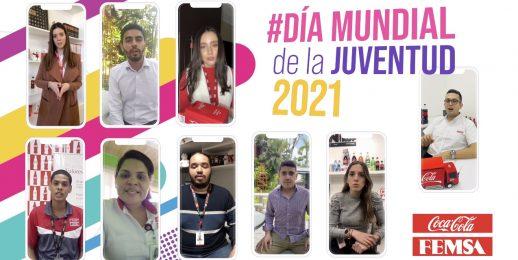Jóvenes, bienvenidos a transformar los sistemas en el Día Mundial de la juventud juventud 2021.