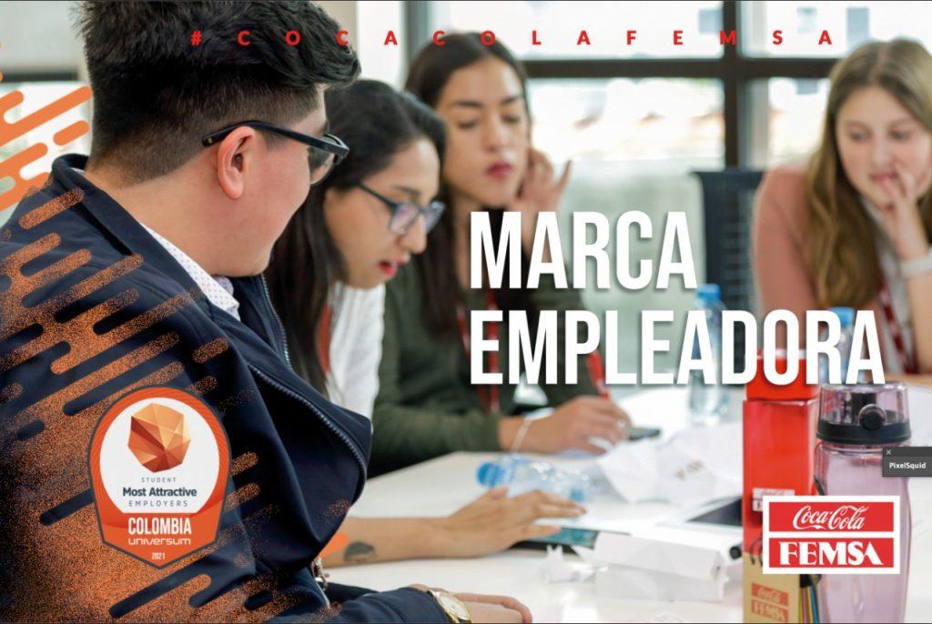 Coca-Cola FEMSA Colombia entre las empresas más atractivas para el talento jóven de Latinoamérica.
