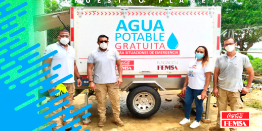 4.000 habitantes de comunidades en Colombia acceden a agua potable gracias a Vehículo Potabilizador de Coca-Cola FEMSA y Fundación FEMSA