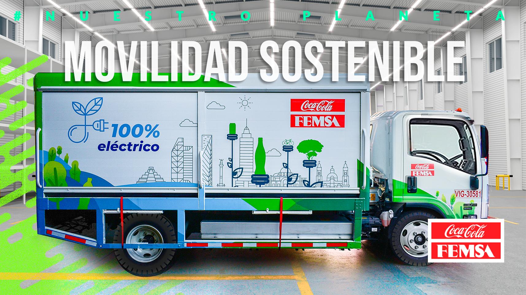 Movilidad sostenible en la estrategia de Coca-Cola FEMSA.