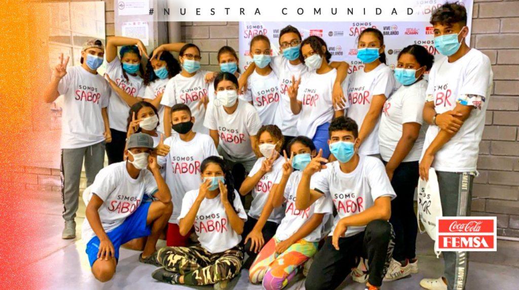 Más de 200 jóvenes y adolescentes del departamento de Córdoba se vinculan al programa Somos Sabor, apoyado por Coca-Cola FEMSA.