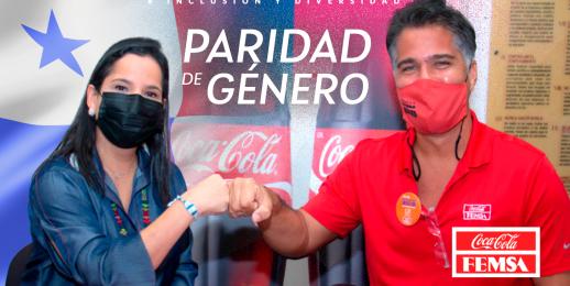 Coca-Cola FEMSA Panamá se suma a la iniciativa de paridad de género.