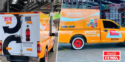 Ruta Hogar, una solución para el reciclaje en la capital, promovida por el Sistema Coca-Cola.